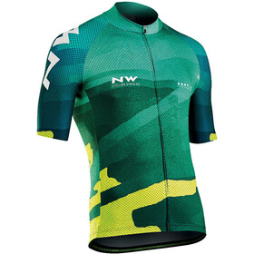 Northwave Blade 3 Bike Jersey Shortsleeve Men yellow/green
